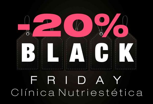 ¡Llega el Black Friday a Clínica Nutriestética! en TodoEstetica.com