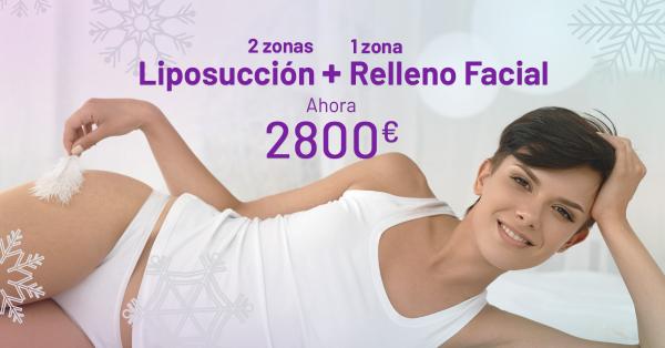 ¡OFERTA DE NAVIDAD! LIPOSUCCIÓN + RELLENO FACIAL ( 1 ZONA)  en TodoEstetica.com