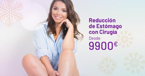 ¡OFERTA DE NAVIDAD! REDUCCIÓN DE ESTÓMAGO CON CIRUGÍA  en TodoEstetica.com