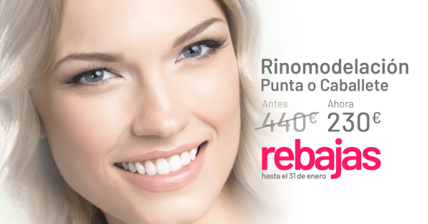 REBAJAS DE ENERO: RINOMODELACIÓN  en TodoEstetica.com