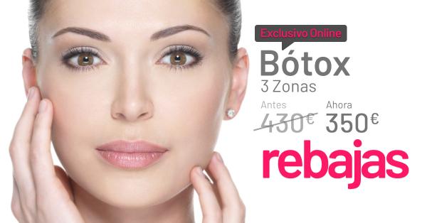 REBAJAS DE ENERO: BOTOX 3 ZONAS  en TodoEstetica.com