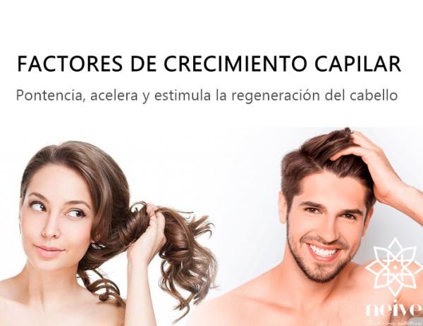 FACTORES de CRECIMIENTO CAPILAR
