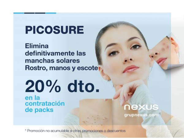 20% dto. en eliminación de manchas en la piel