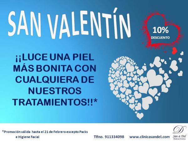 ¡¡Celebra San Valentín luciendo una piel más bonita !! en TodoEstetica.com