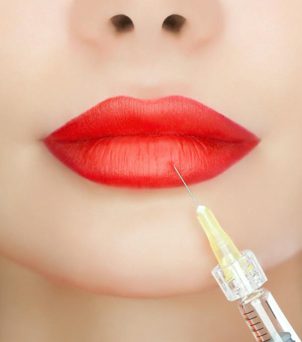 Aumento de labios con vitaminas infiltradas gratis