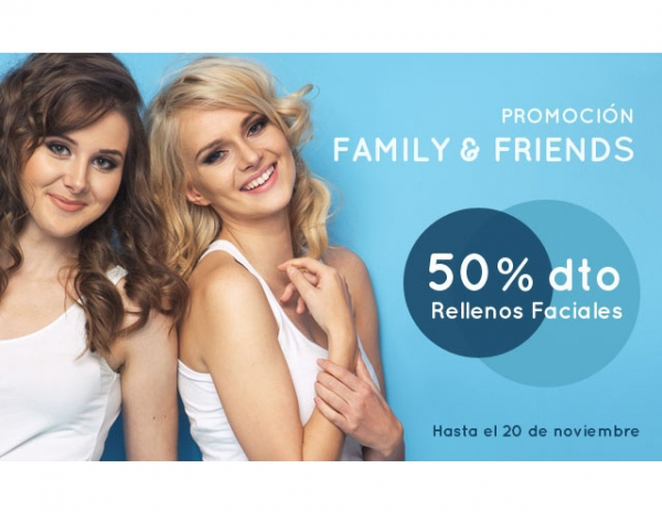 Promoción Family&Friends en TodoEstetica.com