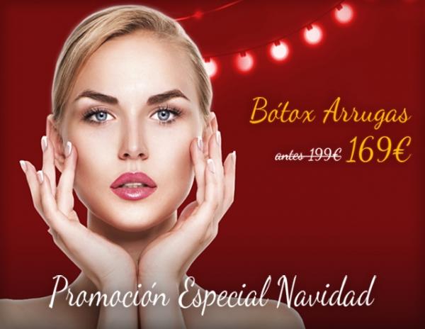 Navidad: Bótox por 169€/zona en TodoEstetica.com