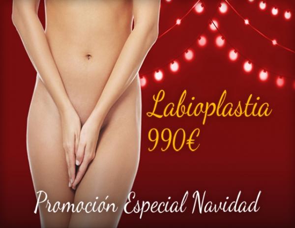 Navidad: Labioplastia por 990€ en TodoEstetica.com