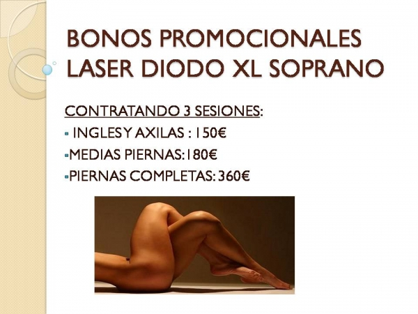 OFERTA DICIEMBRE LASER en TodoEstetica.com