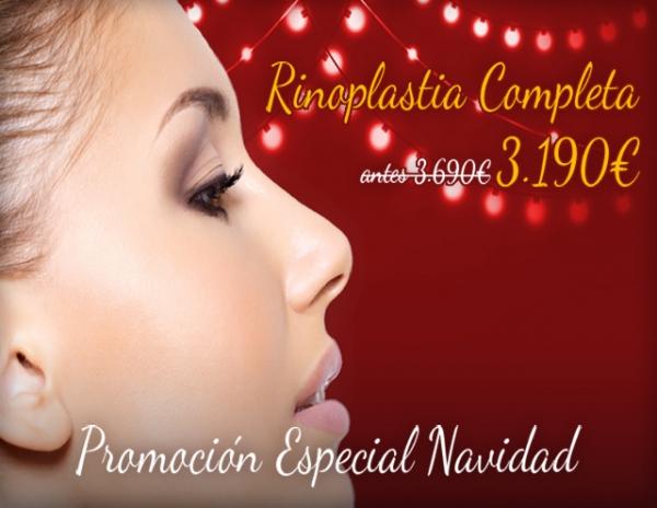 Navidad: Rinoplastia Completa 3.190€ en TodoEstetica.com