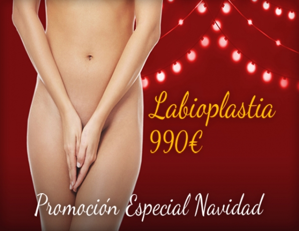Navidad: Labioplastia 990€