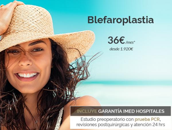 Blefaroplastia · Elimina los párpados caídos