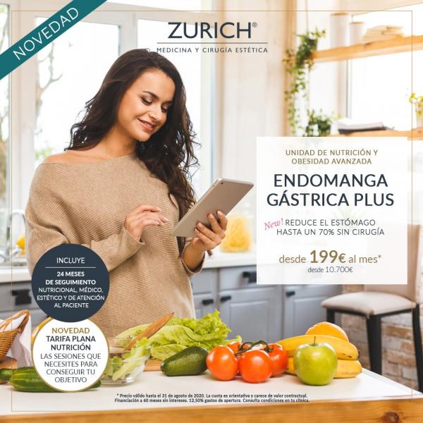 Endomanga Gástrica PLUS en TodoEstetica.com