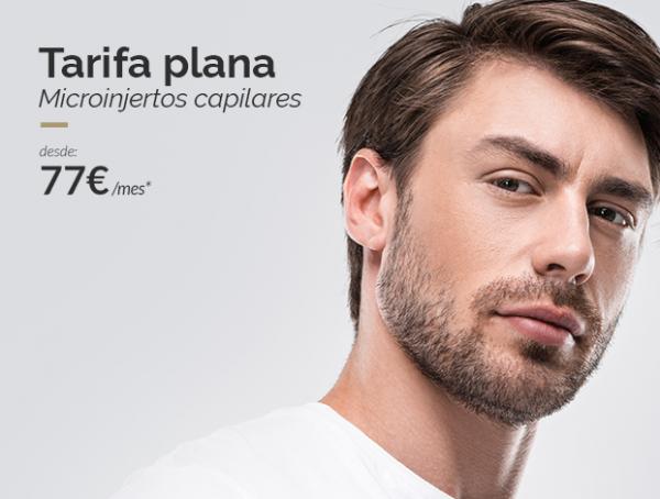 Novedad ·Tarifa plana · Microinjertos Capilares