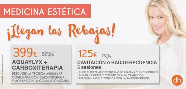 Promociones Aqualyx, Cavitación y Radiofrecuencia en TodoEstetica.com