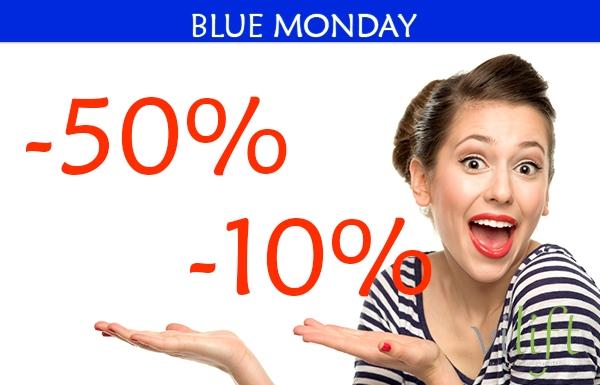BLUE MONDAY HASTA EL 50% en TodoEstetica.com