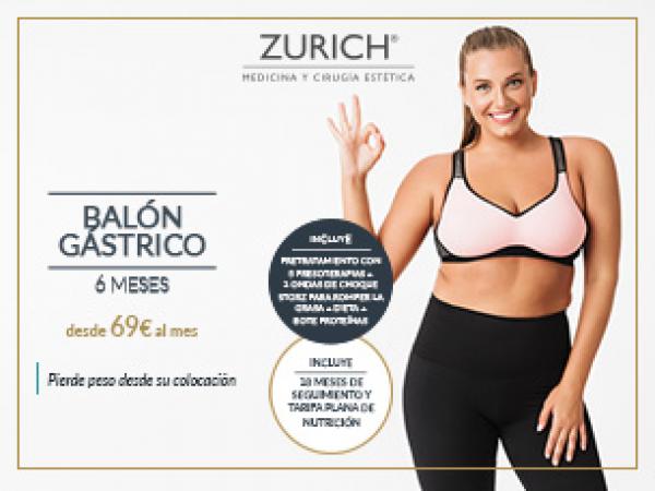 Balón Gástrico de 6 meses - Pierde peso sin cirugía desde 69€/mes
