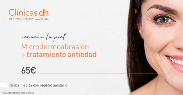PROMOCIÓN: Microdermoabrasión con punta de diamante + Tratamiento Antiedad