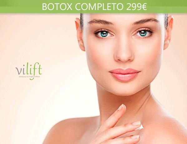 Botox Completo 299€ en TodoEstetica.com