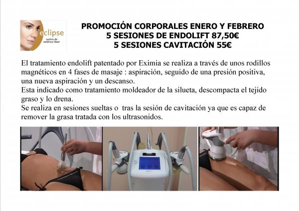 TRATAMIENTO REDUCTOR: 5 CAVITACIONES+ 5 ENDOLIFT+ 5 PLATAFORMAS en TodoEstetica.com