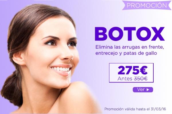 Promoción de Botox en TodoEstetica.com