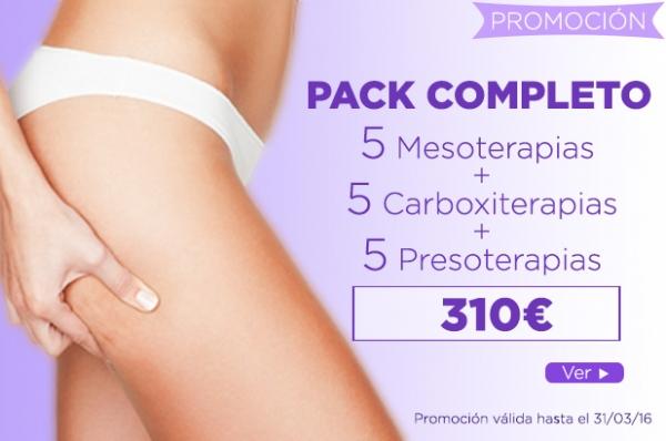 Pack Completo Anticelulitis en TodoEstetica.com
