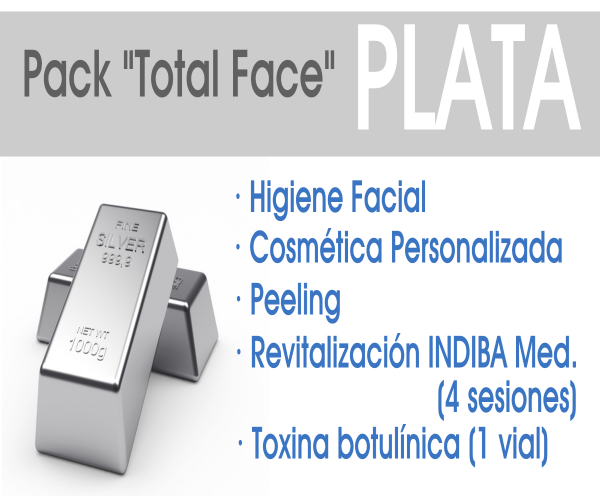 Pack Total Face PLATA