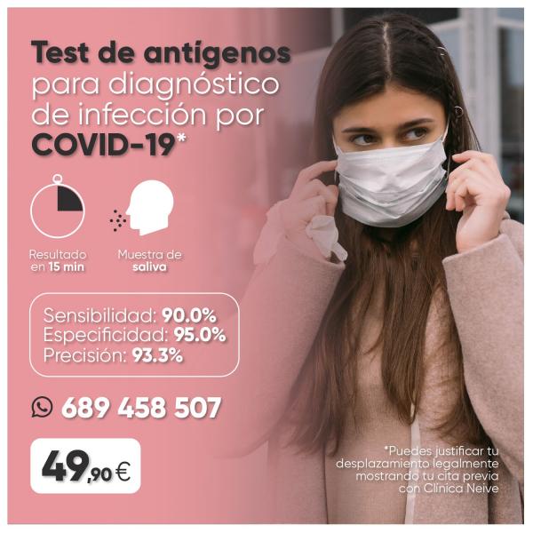 Test de Diagnóstico por COVID-19  en TodoEstetica.com