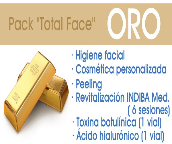 Pack Total Face ORO en TodoEstetica.com