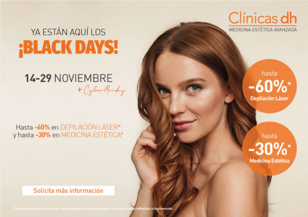 ¡Adelantamos el Black Friday! Grandes descuentos en Medicina Estética Madrid