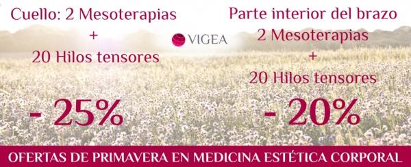 Oferta de primavera en Medicina Estética Corporal