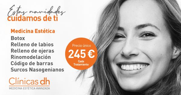 Botox o Aumento de Labios a 245 € en Madrid