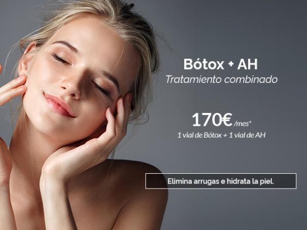 Bótox + ácido hialurónico · Elimina arrugas e hidrata la piel en TodoEstetica.com