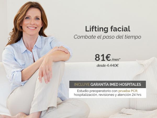 Lifting facial · Combate el envejecimiento en TodoEstetica.com