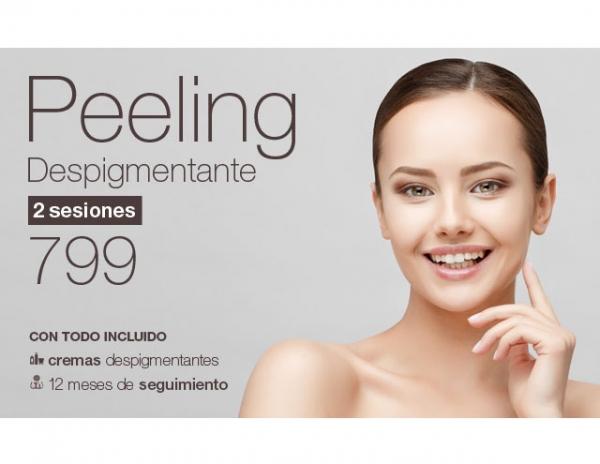 Peeling anual despigmentante: presume de piel este verano en TodoEstetica.com