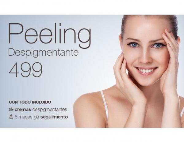 Peeling despigmentante (1 sesión): haz que tu piel brille más que el sol este verano en TodoEstetica.com