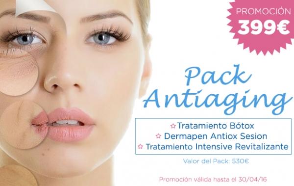 Tratamiento Rejuvenecedor: Antiaging Pack en TodoEstetica.com