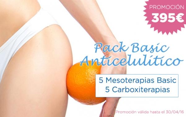 Promoción Pack Basic Anticelulitis en TodoEstetica.com
