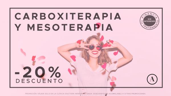 20% De Descuento En Tratamientos De Carboxiterapia Y Mesoterapia Corporal