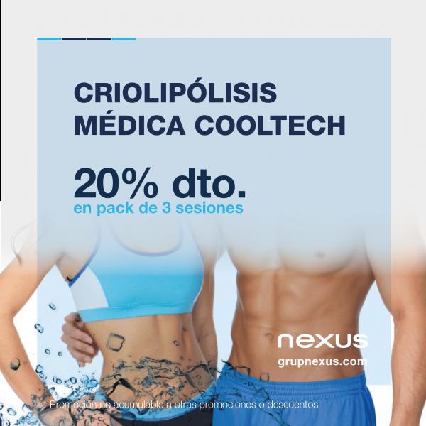 20% dto. en Criolipólisis médica