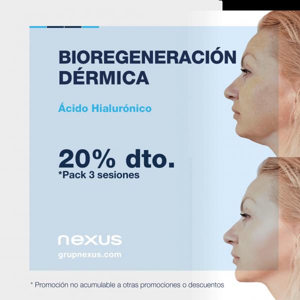 20% dto. en Bioregeneración dérmica