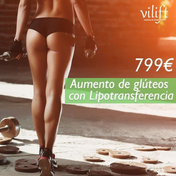 LIPOTRANSFERENCIA A GLÚTEOS 799€ 👌