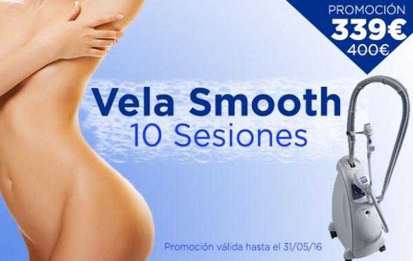 Promoción Vela Smooth: Elimina Flacidez y volumen en TodoEstetica.com