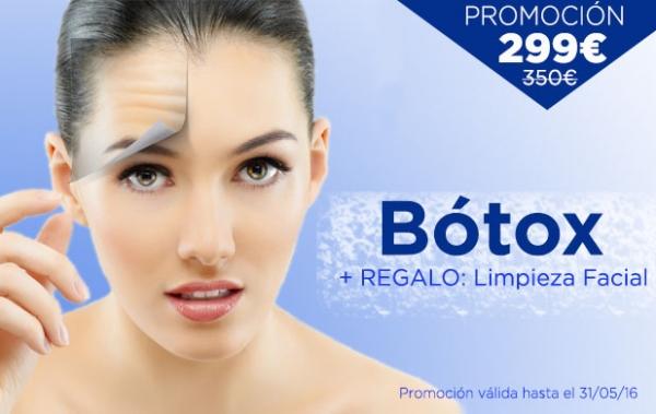 Promoción Tratamiento de Bótox: 299€ en TodoEstetica.com
