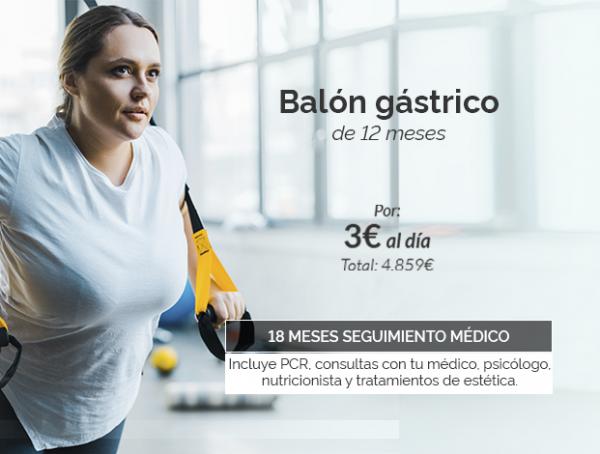 Pierde peso con el Balón Gástrico de 12 meses por 3€ al día en TodoEstetica.com