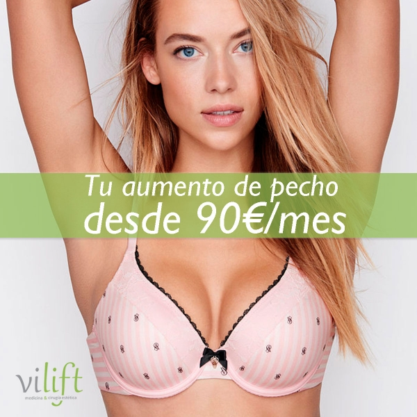 TU AUMENTO DE PECHO POR SOLO 3.595€ O DESDE 90€/MES en TodoEstetica.com