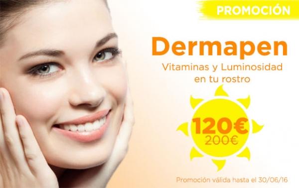 Promoción Dermapen Facial Vitaminas en TodoEstetica.com