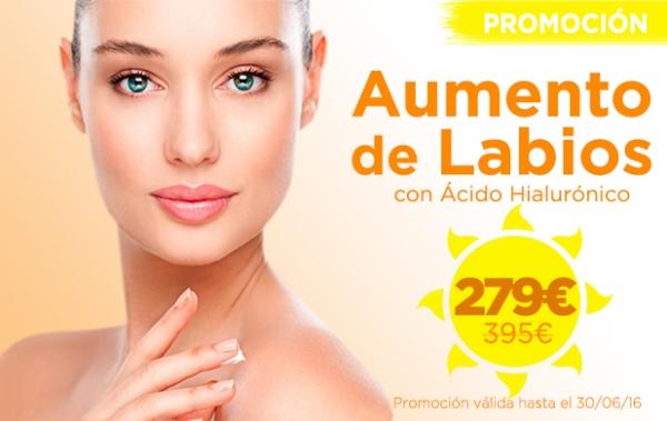 Promoción Aumento de Labios en TodoEstetica.com