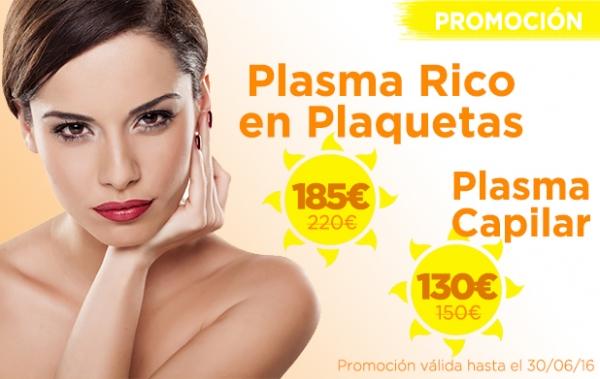Promoción Plasma Rico en Plaquetas y Plasma Capilar en TodoEstetica.com