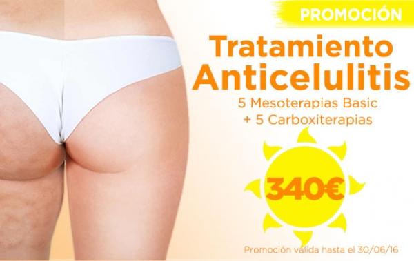 Promoción Tratamiento Anticelulitis en TodoEstetica.com